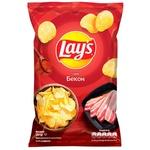 Чипсы Lay's со вкусом бекона 25г
