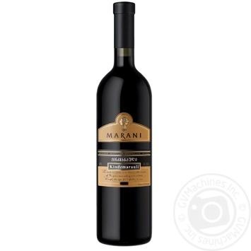 Вино Marani Кіндзмараулі червоне напівсолодке 11% 0,75л - купити, ціни на Ашан - фото 1