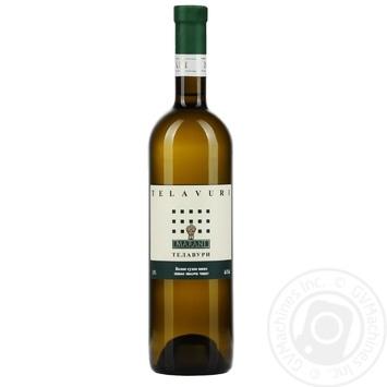 Marani Telavuri White Dry Wine 0,75l - buy, prices for Furshet - image 1