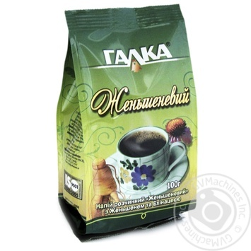 Instant drink Galka Ginseng with ginseng and echinacea 100g - buy, prices for MegaMarket - image 1