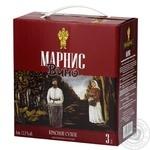 Вино Marani Marnis красное сухое 12,5% 3л - купить, цены на Novus - фото 1