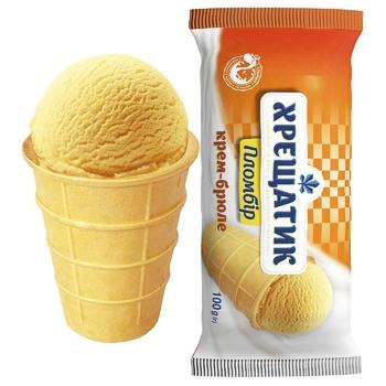 Морозиво Хрещатик пломбір крем-брюле 100г - купити, ціни на Метро - фото 2