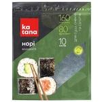 Нори водоросли Katana морские сушеные 10 листов