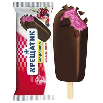 Khreshchatyk With Berries Ice-cream 80g - buy, prices for MegaMarket - image 2