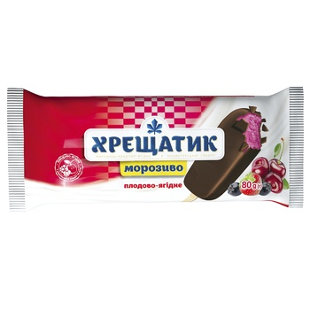 Khreshchatyk With Berries Ice-cream 80g - buy, prices for MegaMarket - image 1