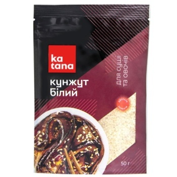 Katana White Sesame 50g - buy, prices for MegaMarket - image 2