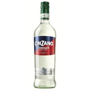 Вермут Cinzano Extra Dry 1л - купить, цены на Метро - фото 1