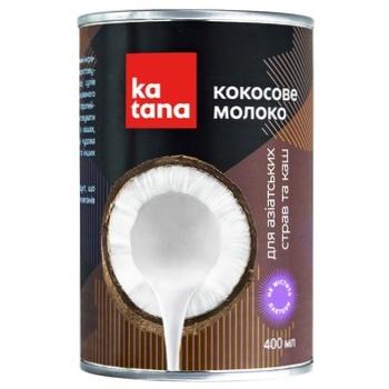 Кокосовое молоко Katana 400мл