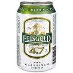 Пиво Felsgold Premium Pilsener светлое фильтрованное пастеризованное 4,7% 0,33л