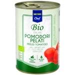 Томаты Metro Chef Bio очищенные с томатным соком 400г