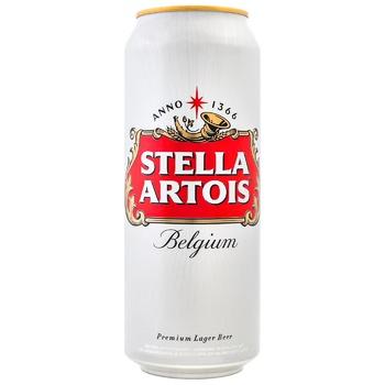 Stella Artois Blonde Beer Can 5% 0,5l - buy, prices for CityMarket - photo 1