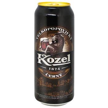 Пиво Vlekopopovicky Kozel темное 3,8% 0,5л