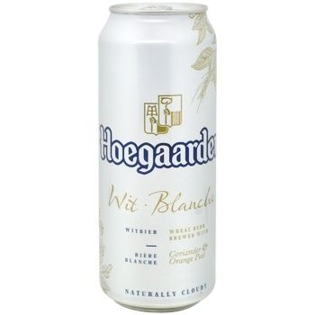 Пиво Hoegaarden світле 4.9% 0,5л
