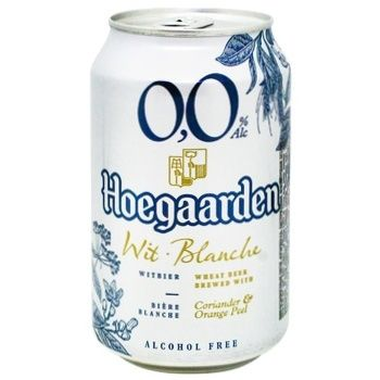 Hoegaarden White NA Beer 0,33l can