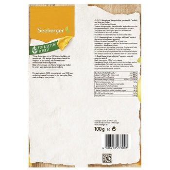 Seeberger dried mango 100g - buy, prices for CityMarket - photo 2