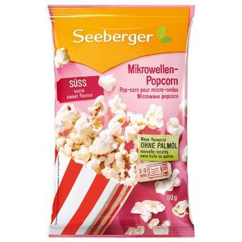 Попкорн Seeberger сладкий 90г
