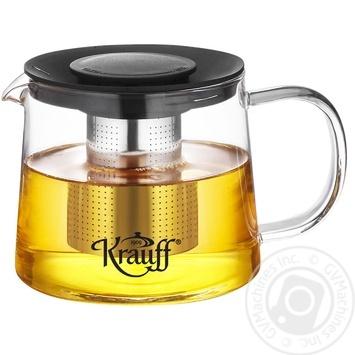 Набір Krauff для заварювання чаю колба. ситечко. кришки арт.038