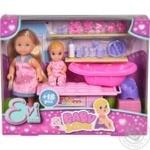 Simba Evi Love Baby Sitter Doll Set