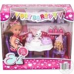 Simba Evi Love Pet Rarty Doll Set