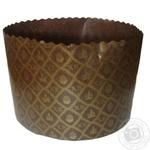 Форма для выпекания пасхального кулича бумажная 70*60мм