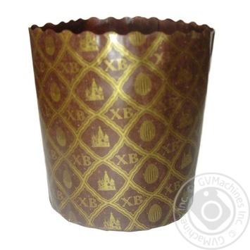 Форма Ecopack ХВ-сетка для выпечки пасхи бумажная 11*8,5см - купить, цены на Ашан - фото 1
