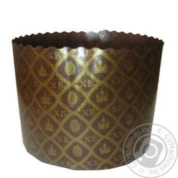 Форма Ecopack ХВ-сетка для выпечки пасхи бумажная 13,4*9,5см - купить, цены на Ашан - фото 1