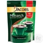 Кава Jacobs Монарх розчинна економ пакування 90г