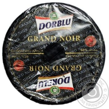 Kaserei Champignon Grand Noir Dor Blu With Blue Mold Cheese 60% - buy, prices for Novus - image 1