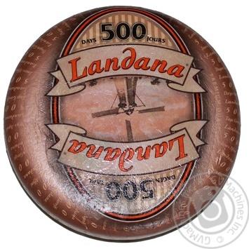Сыр Landana Маасдам 500 дней 48% - купить, цены на Novus - фото 1