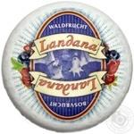 Сир 50% козиний Гауда з лісовими ягодами Landana ваг