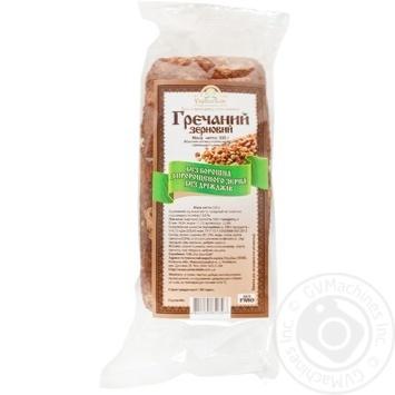 Хлеб УкрЭкоХлеб Гречаный Зерновой 330г - купить, цены на Novus - фото 1