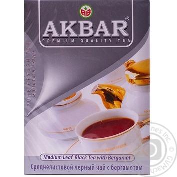 Чай чорний Akbar Earl Grey 100г - купити, ціни на Таврія В - фото 3