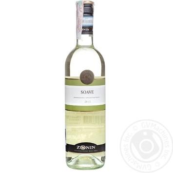 Вино Zonin Soave белое 12% 750мл - купить, цены на Novus - фото 2