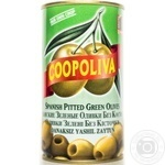 Оливки Coopoliva зеленые без косточки 370мл - купить, цены на ЕКО Маркет - фото 1