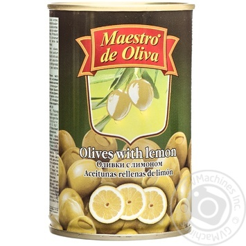 Maestro de Oliva Green Olives with lemon 300ml - buy, prices for Novus - image 1