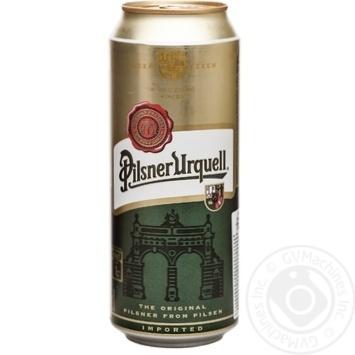 Пиво Pilsner Urquell світле 4,4% 0,5л - купити, ціни на Метро - фото 1