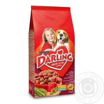 Корм для собак сухий Darling М'ясо 3кг