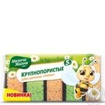 Губки Мелочи жизни Пчелки кухонные крупнопористые 5шт - купить, цены на Novus - фото 2