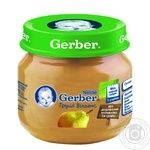 Fruit puree Gerber Williams pear for 4+ month babies 80g