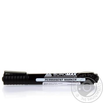 Маркер Buromax водостойкий черный - купить, цены на Ашан - фото 6