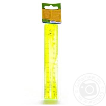 Лінійка Zibi пластикова 15см - купити, ціни на CітіМаркет - фото 6