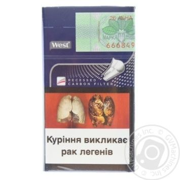 West Compact Blue Cigarettes - buy, prices for Furshet - image 2