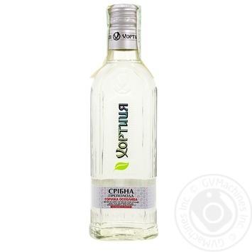 Khortytsya Srybna Prokholoda Vodka 40% 0,2l