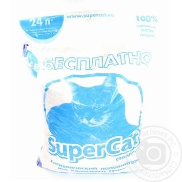 Наповнювач гігієнічний для туалету Super Cat стандарт 6+1 7кг 5995 - купить, цены на Novus - фото 3