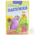 Food Pryroda Papuzhka dry for parrots 575g