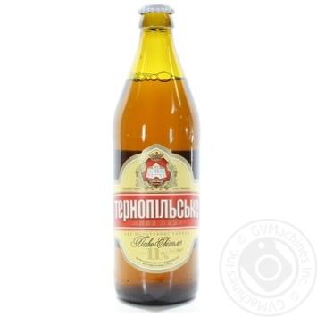 Пиво світле Опілля Тернопільське 3,7% 0,5л скл/пл