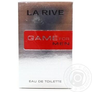 Чоловіча туалетна вода GAME FOR MAN , La Rive 100 мл