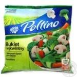 Смесь овощная Poltino Овощной букет для жарки с шампиньонами быстрозамороженная 400г