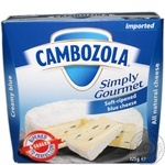 Cambozola simply gourmet soft cheese 60% 125g