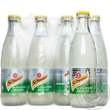 Напиток Schweppes Classic Mojito сильногазированый стекло 0,25л